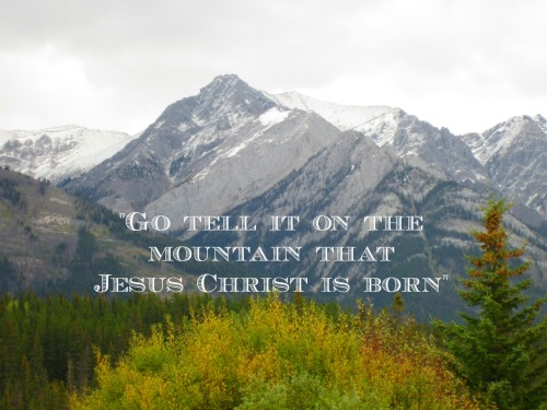 go tell it on the mountain pic