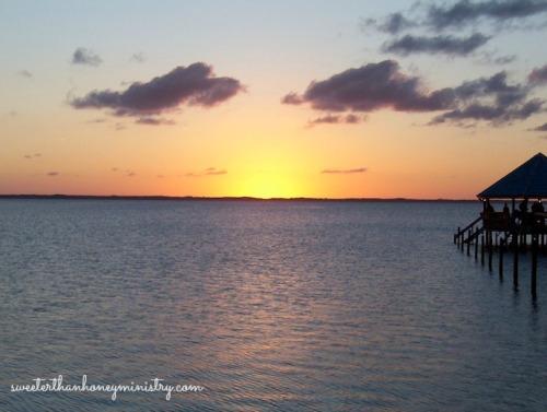 Duck NC sunset