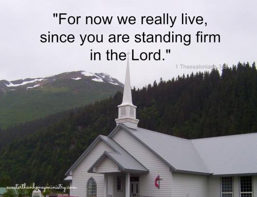 alaska church 1 Thessalonians 3-8